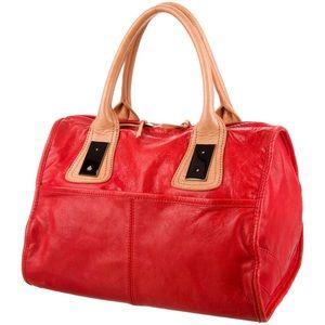 3.1 Phillip Lim Bicolor Soft Leather Satchel Tote